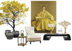 Chinese Style : If y. Modern Chinese Interior, Asian Interior, Modern Interior Design, Le Style Zen, Interior Design Presentation, Landscape Concept, Id Design, Oriental Furniture, Asian Decor