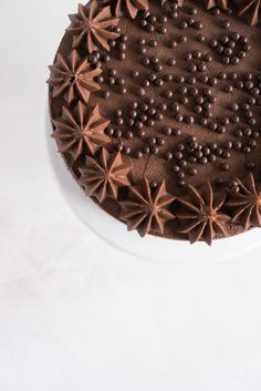 one-bowl devils food layer cake with milk chocolate frosting