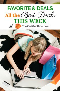 Save money with these amazing deals each week! Stretch your budget even further and don't pay full price ever again. See what's hot this week! #dealsandsteals #dealsalert #dealsoftheweek #hotdeals | saving money | savings | saving money tips | blogging deals | business deals | making money deals | household deals | personal finance deals | Cook With a Shoe