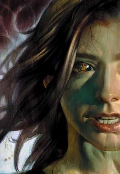 Dark Willow - Buffy The Vampire Slayer This is awesome, seriously my fav comic.
