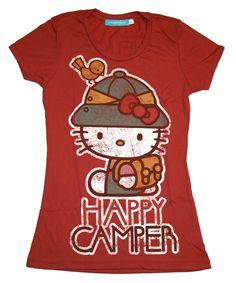 "Hello Kitty ""Happy Camper"" t-shirt"