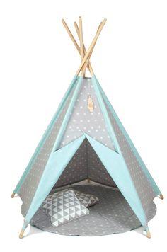 Tipi Kids Play Teepee Tent Wigwam Zelt Tente by TeepeeLittleNOMAD