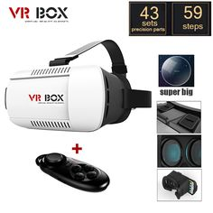 VR BOX with Bluetooth Wireless Gamepad //Price: $35.24 & FREE Shipping //     #electronics #electronicaccessories