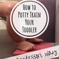Toilet Learning — How to Potty Train Your Toddler the Montessori Way – MOMtessori Life What Is Montessori, Montessori Classroom, Montessori Toddler, Montessori Activities, Learning To Write, Teaching Writing, Kids Learning, Toddler Potty Training, Toddler Teacher