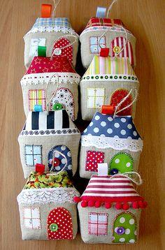 Ornaments - Little Houses