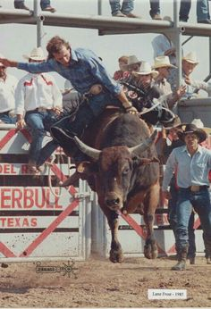 Lane Frost 1985 champ George Paul Memorial