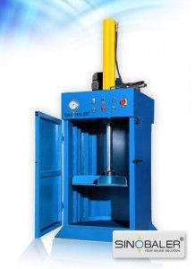 Drum Crusher / Barrel Flattener - Sinobaler Manufacturer of Vertical, Horizontal Baling Machines in Oil Drum, Metal Drum, Barrel Baling and Recycling