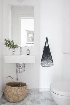 Neat, compact fixtures such as wall hung basins and short projection toilets are ideally suited to small bathrooms - save space without sacrificing style!