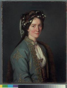 portrait of a lady called Madame Baudin dressed in Ottoman style, by Élisabeth Vigée Le Brun, the century Female Portrait, Portrait Art, Female Art, Oriental Dress, Turkish Art, European Paintings, Elisabeth, Paintings I Love, Woman Painting