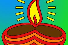 vilakku clipart - OurClipart Diwali Painting, Clip Art, Free, Pictures