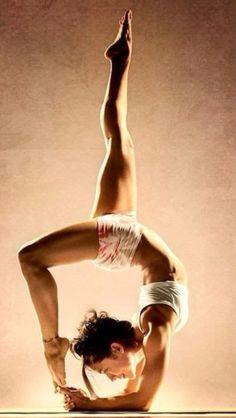 My new goal!!   Yoga pose