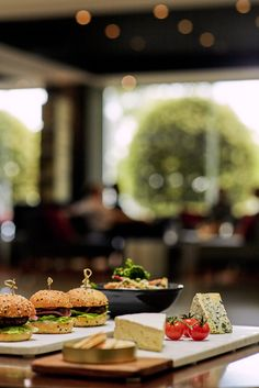 Which burger are you going to taste? @ Mercure Melbourne Albert Park #Australia #Food