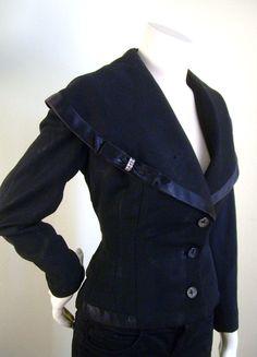 100 percent Virgin Wool 40s Jacket by stilettoRANCH on Etsy, $65.00
