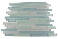 Great choice for back splash.  tao beach glass tiles - shop glass tiles at glasstilestore.com
