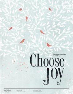Choose Joy by Eva Juliet