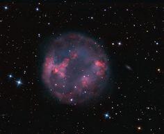 Planetary nebula Abell 7