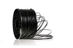 Highest Quality 1.75mm Black PLA Filament - Full 1kg Spool or .25kg Project Spool