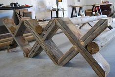 "Cavalleti are training rails for horses. Traditionally they are on an ""X"" frame and can be turned to three different heights and can also b..."