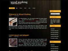 In this collection, we have over 50 free professionally designed and developed responsive web templates, covering many web design niches. Html And Css Templates, Html Css, Web Design Trends, Responsive Web, Wood Working, Drink, Food, Woodworking, Beverage