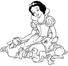desenhos de princesas para pintar - Pesquisa Google