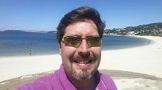 Mañana de trabajo en la playa, que más se puede pedir. #anabelycarlos #calidaddevida #libertad