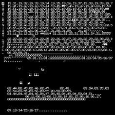 Mat Cook's ASCII art sleeves for Howie B