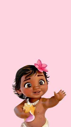 This Disney art looks so cute in this art baby Moana is shown Art Baby Wallpaper, Moana Wallpaper Iphone, Cartoon Wallpaper Iphone, Disney Phone Wallpaper, Cute Cartoon Wallpapers, Music Wallpaper, Wallpaper Wallpapers, Iphone Wallpapers, Moana Disney