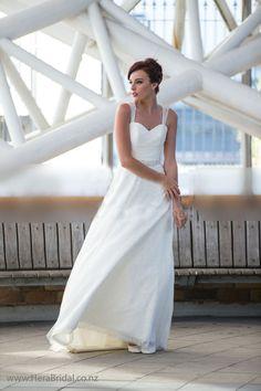 #Elegant A-line #Sleeveless Floor Length #Backless Lace #Wedding Dress