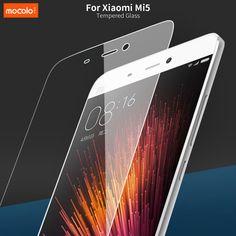 Per xiaomi mi5 tempered glass screen protector 9 h 2.5d 0.26mm durezza velo di vetro a prova di esplosione premium per xiaomi mi5 m5 mi 5
