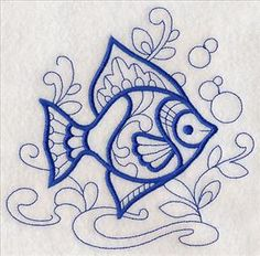 Machine Embroidery Designs at Embroidery Library! - New This Week Border Embroidery, Machine Embroidery Applique, Free Machine Embroidery Designs, Embroidery Stitches, Embroidery Hoop Nursery, Stitch Witchery, Quilling Patterns, Embroidery Techniques, Needlework