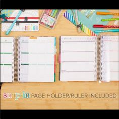 "A new ""Party Pops"" Design for the snap-in page holder/ruler!   Erin Condren planners will be available for pre-order June 9th! Use my referral code and get $10 off for new customers https://www.erincondren.com/referral/invite/kayleneklingert0525 #ECLifePlanner #ECadventure #erincondren #erincondrenlifeplanners #erincondrenlifeplanner @erincondren"