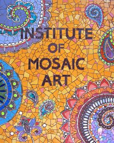 Mosaic by Laurel True with the 2014 Mural Making Class