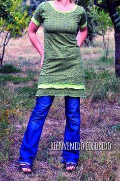 bienvenido colorido: Jerseykleid by #allerlieblichst
