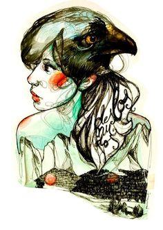 dayakopie7: by Paula Bonet