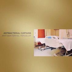 Antibacterial curtains