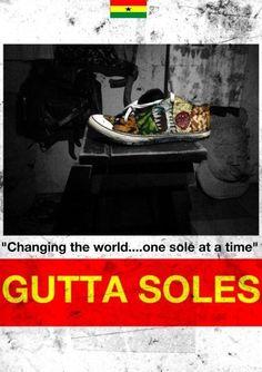 #guttasoles Change The World, Design