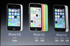 Apple presenta su iPhone 5C económico y el esperado iPhone 5S