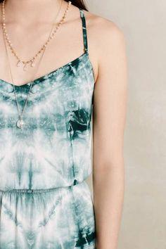 Shibori Sea Maxi Dress by The Odells