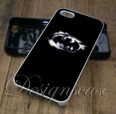 Batman Logo - iPhone 4/4S, iPhone 5/5S/5C, iPhone 6 Case, Samsung Galaxy S4/S5 Cases