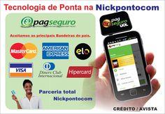 Nickpontocom.net: Cartão de Crédito que dispensa senha.