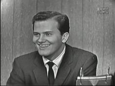 What's My Line? - Pat Boone; Martin Gabel [panel]; Hedy Lamarr [panel] (Jan 5, 1958) - YouTube