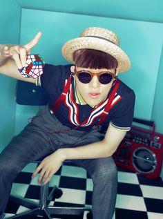 T // ceci campus korean magazine pictorials Korean Fashion Dress, Korean Fashion Summer, Korean Fashion Men, Korean Street Fashion, Summer Fashion Outfits, Kpop Fashion, Spring Fashion, High Fashion, Mens Fashion