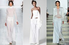 Three Is A Trend: Spring 2014 Style From Fashion Week