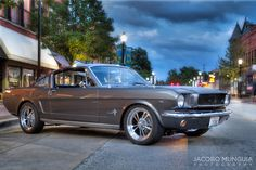 '66 Ford mustang fastback 351