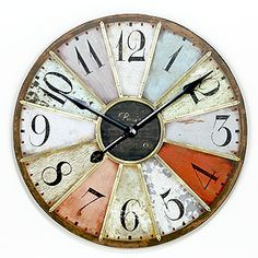 I absolutely loved this clock, until I bought it and realized how cheaply it was made.  Now I'm in search of a similar one that actually works.