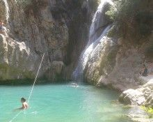 o paradeisos ths messhnias Waterfall, In This Moment, Outdoor, Outdoors, Waterfalls, Outdoor Games, The Great Outdoors