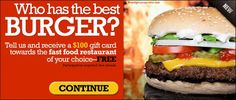 Cash Prize, Fast Food Restaurant, Good Burger, Gift Cards, Hamburger, Coupons, Good Things, Awesome, Ethnic Recipes
