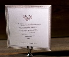 I love this font and this entire design. This website is a great resource for invites.
