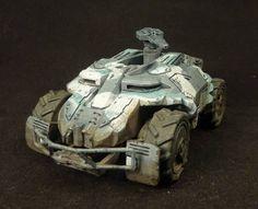 Sci-Fi 28Mm Vehicles | Warthog ADV 28mm sci-fi wargame vehicle APC AFV