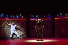 Birtwistle's The Minotaur from The Royal Opera (2008). Production by Stephen Langridge. Sets by Alison Chitty.